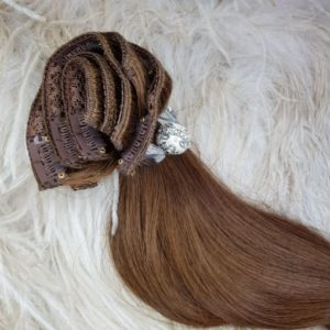 THICK HAIR 220 GRAM CLIP IN HAIR EXTENSIONS