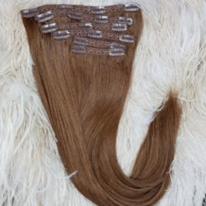 OFF BLACK (1B)  HAIR EXTENSIONS 18 INCHES / 120 GRAMS