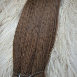 WEFTS 20″ 110G CHOCOLATE BROWN #4