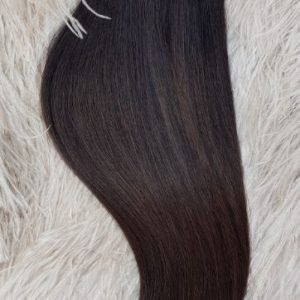 WEFTS 20″ 105G DARK BROWN/CHESTNUT BROWN #2/#6
