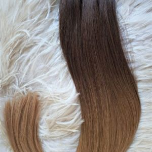 WEFTS 20″ 105G CHOCOLATE BRONZE #4/#16 OMBRE
