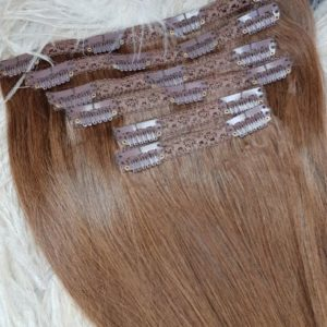 CLIP IN HAIR EXTENSIONS 18 INCHES / 120 GRAMS