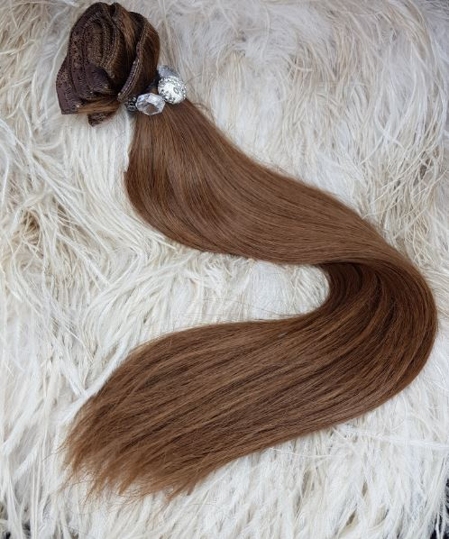 FINE HAIR 120 GRAM CLIP IN EXTENSIONS
