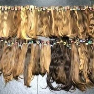 "RUSSIAN VIRGIN HAND TIED WEFT "" 50G"