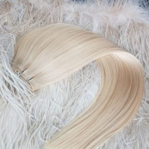 WEFTS 22″ 150G Platinum Blonde